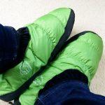 足が冷える冬はノルディスクのルームシューズがおすすめ